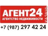 Логотип AГЕНТ24 агентство недвижимости Казань