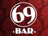 Логотип 69, стрип-бар