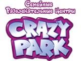 Логотип Crazy Park, семейный развлекательный центр